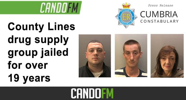 County Lines drug supply group jailed for over 19 years