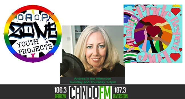 Andrea in the Afternoon with guest Cath Corkhill DropZone Interview