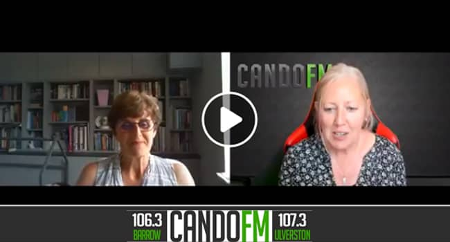 Andrea in the Afternoon with guest Professor Helen James OBE Interview