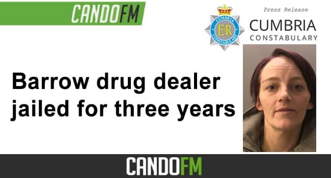 Barrow drug dealer jailed for three years