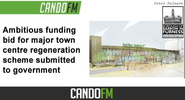 Ambitious funding bid for major town centre regeneration scheme submitted to government