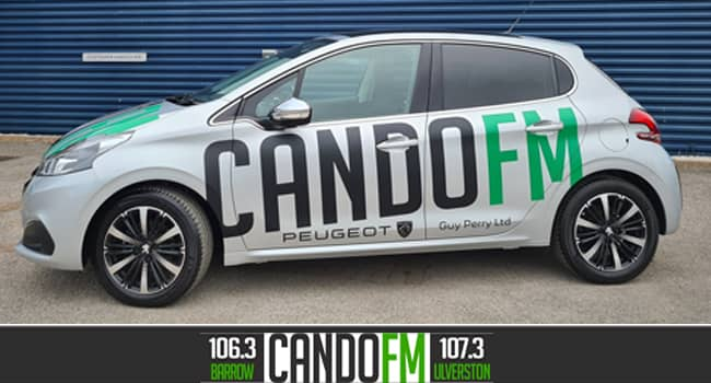 CandoFM's new car from Guy Perry