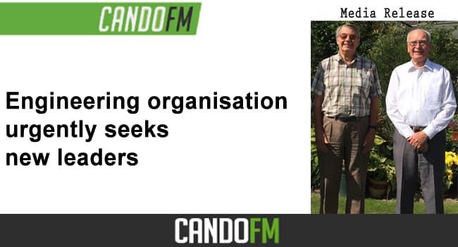 Engineering organisation urgently seeks new leaders