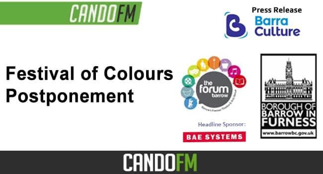 Festival of Colours Postponement