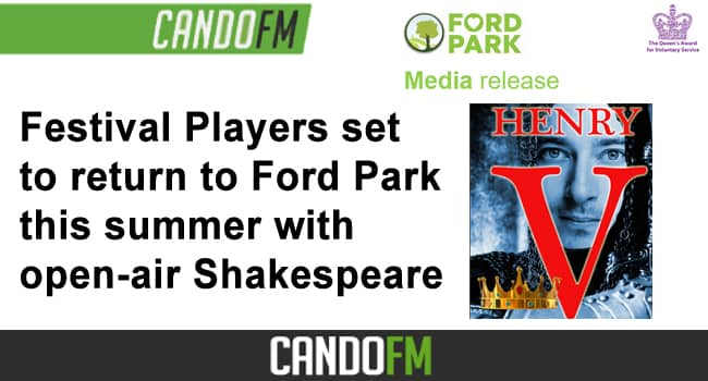 Festival Players set to return to Ford Park this summer with open-air Shakespeare