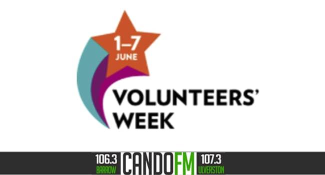 It's Volunteers' Week 1-7 June 2021