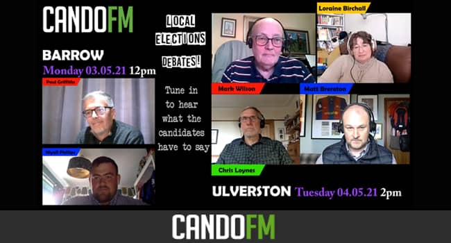 Local Elections debate – ULVERSTON candidates