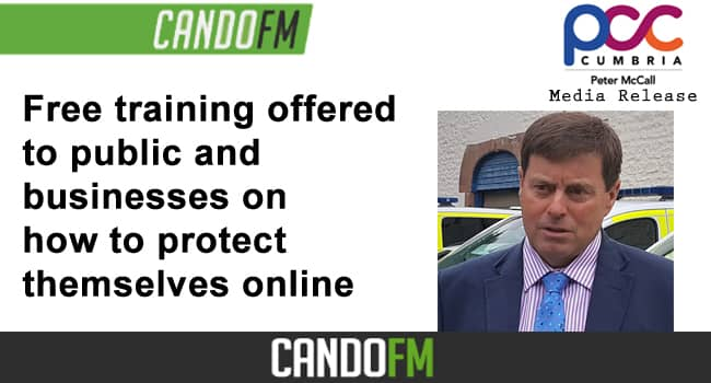 Free training offered to public and businesses on how to protect themselves online