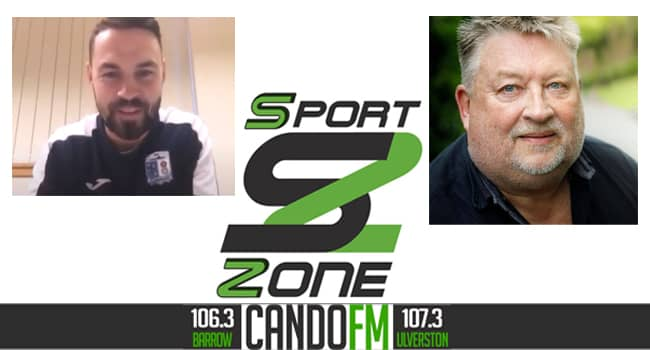 SportZone with guest Craig Rutherford ,Manager of the Barrow AFC Community trust