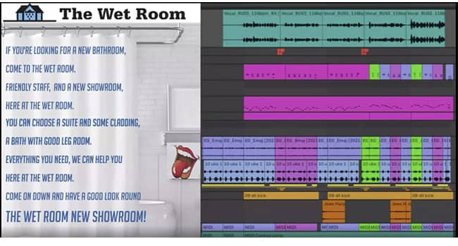 Sing-a-long with the new CandoFM Wet Room Advert