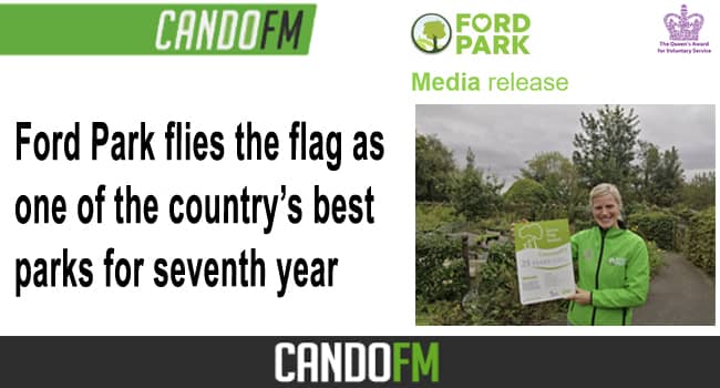 Ford Park flies the flag as one of the country's best parks for seventh year
