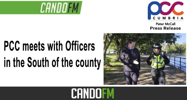 PCC meets with Officers in the South of the county