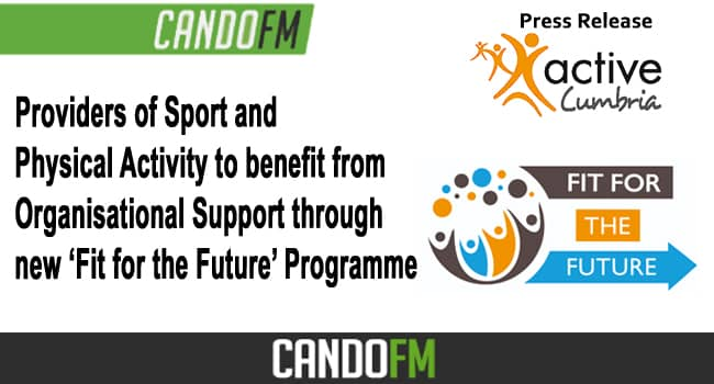 Providers of Sport and Physical Activity to benefit from Organisational Support through new 'Fit for the Future' Programme