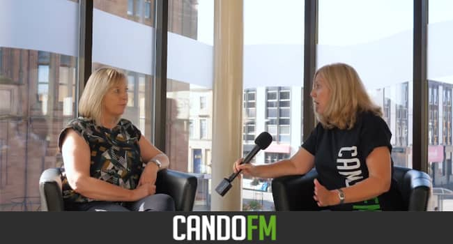 Andrea Williams chats with Joanne Marwood from the Forum