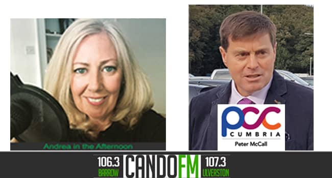 Peter McCall joins Andrea on The Afternoon Show