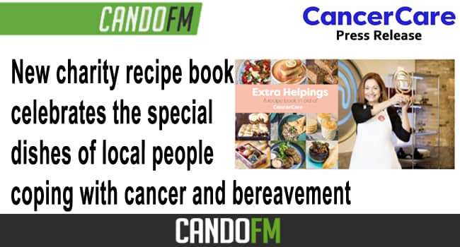 New charity recipe book celebrates the special dishes of local people coping with cancer and bereavement