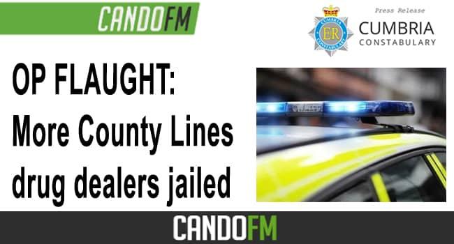 OP FLAUGHT: More County Lines drug dealers jailed