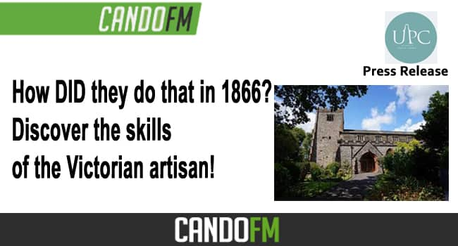 How DID they do that in 1866?  Discover the skills of the Victorian artisan!