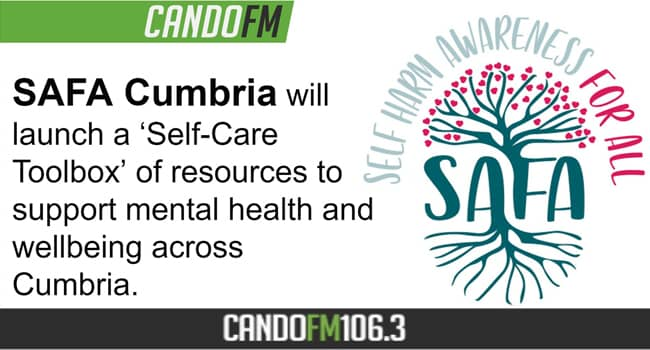 "SAFA Cumbria launches ""Self-Care Toolbox"" of resources to support mental health and wellbeing across Cumbria"